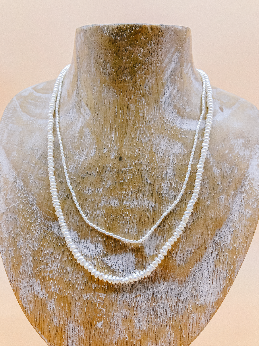 Freshwater Pearl Necklace by Veronique