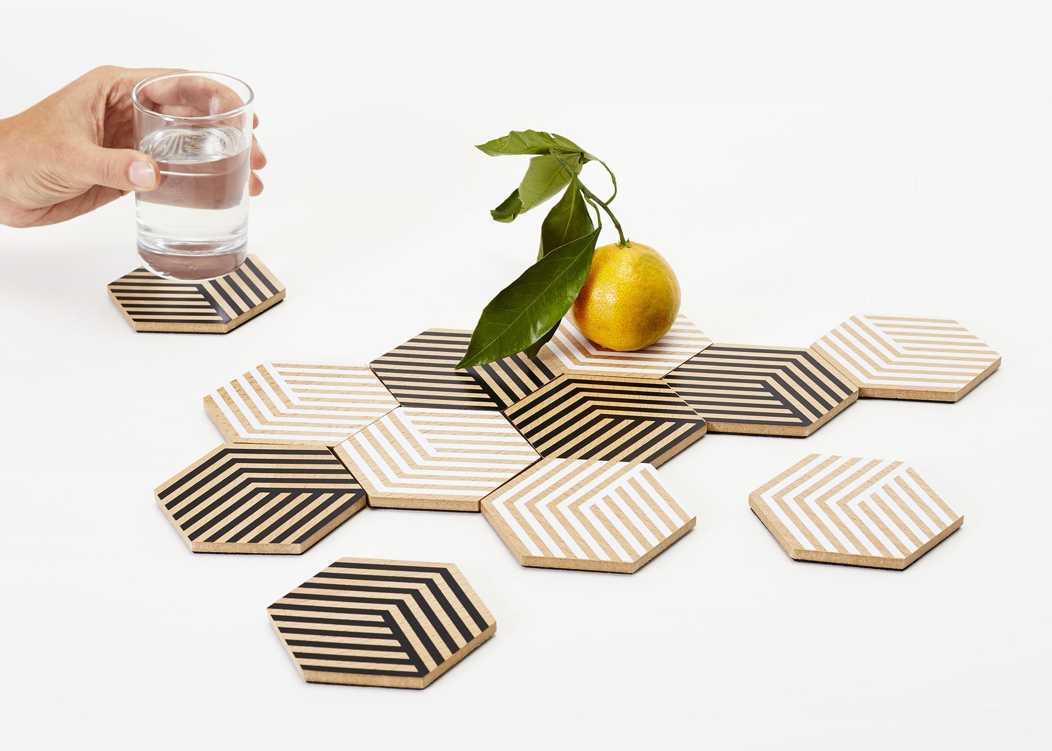 Table Tiles - Optical White
