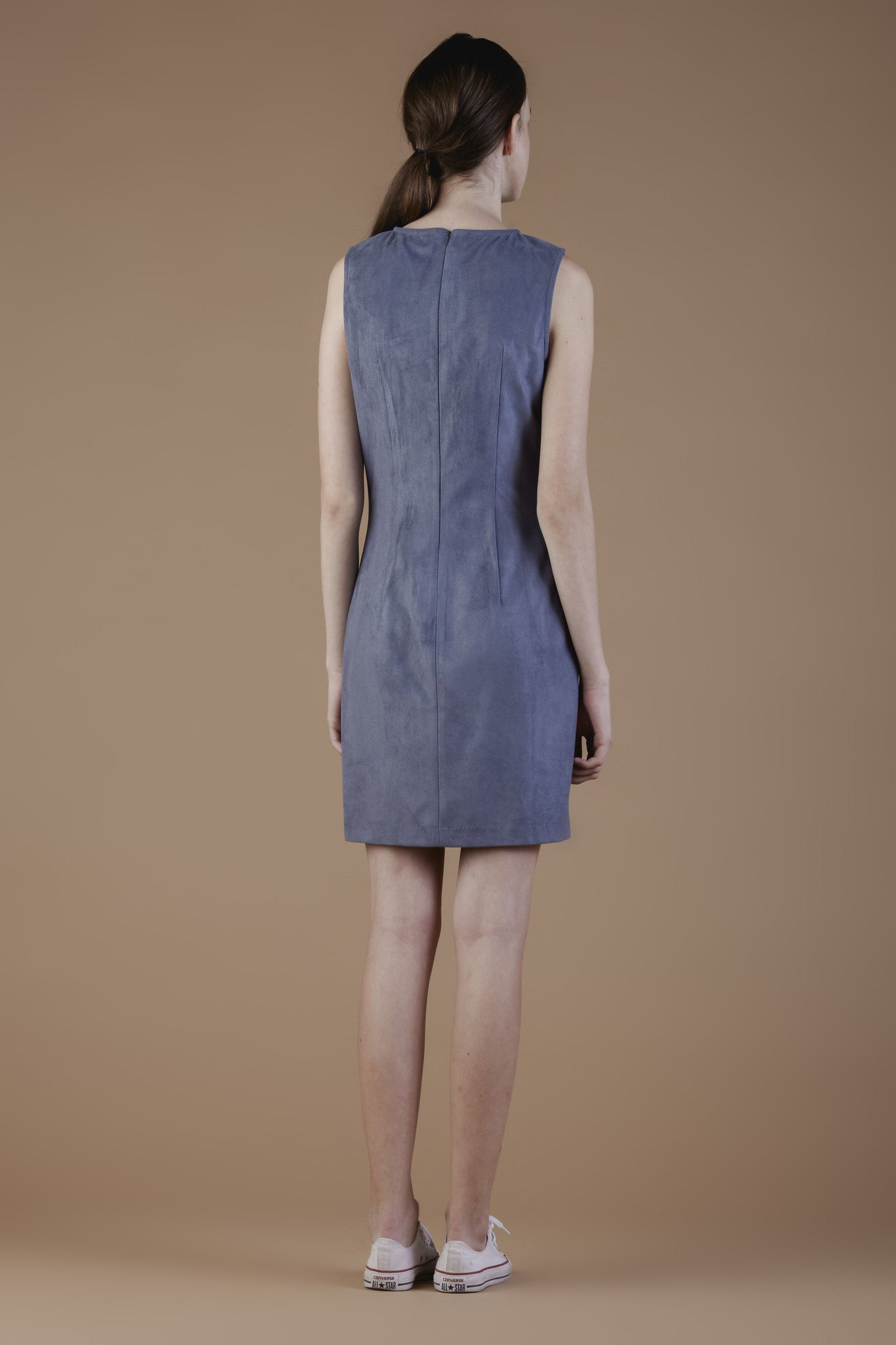 Faux-suede Dress #11B