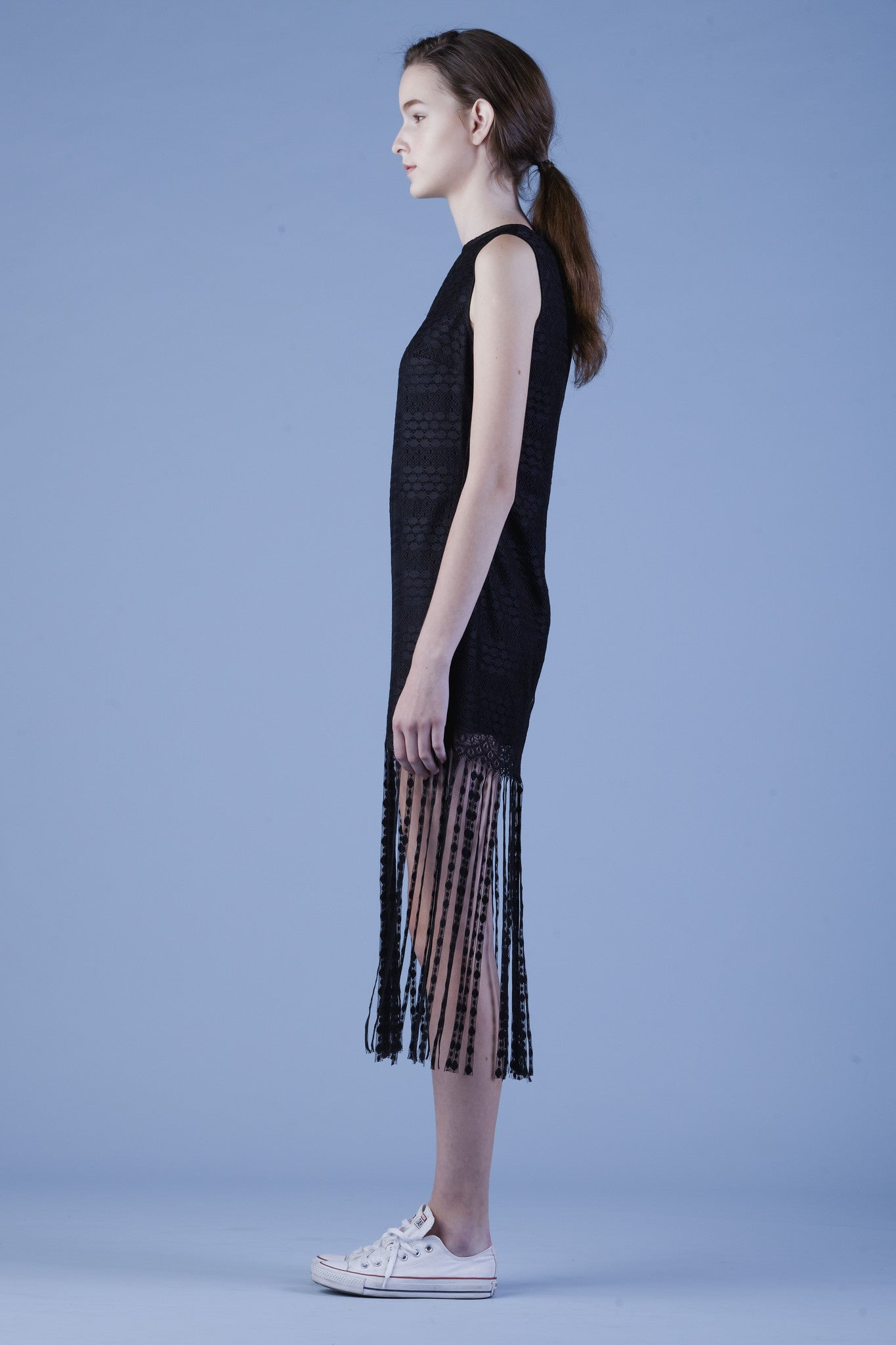 Lace Fringe Dress #06