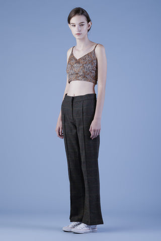 Tweed Straight Legged Pants #32