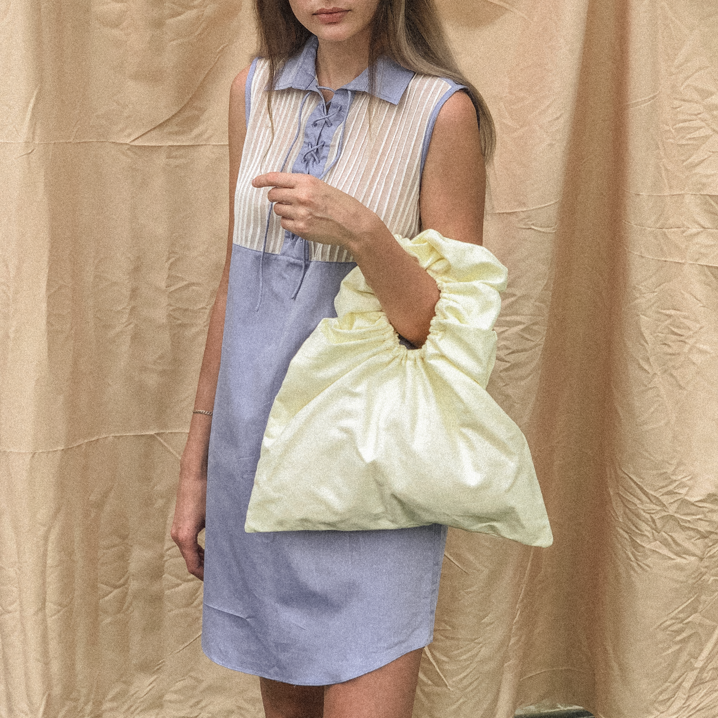 Collared Shirt Dress by Ultramarine