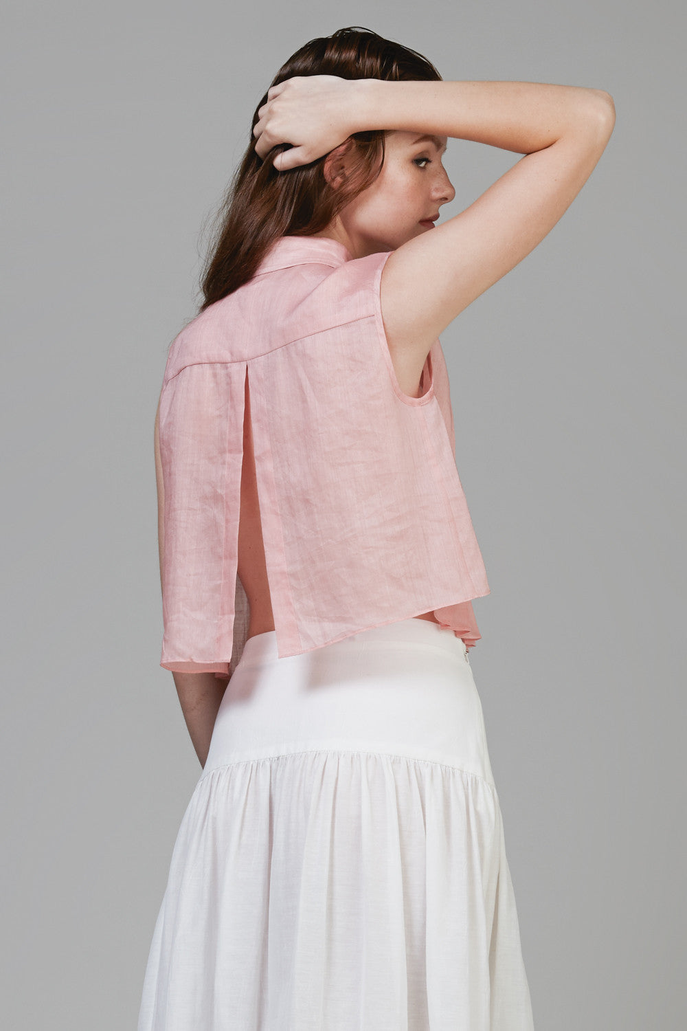Pleated Blouse #09