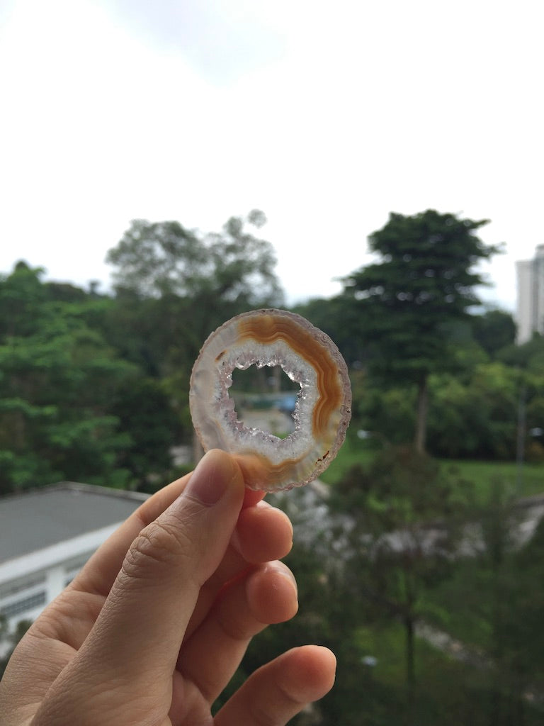 Agate Slice #18 by Vivian Lam