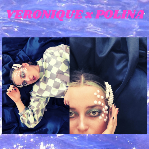 The POLINA X VERONIQUE Edit: Pearls