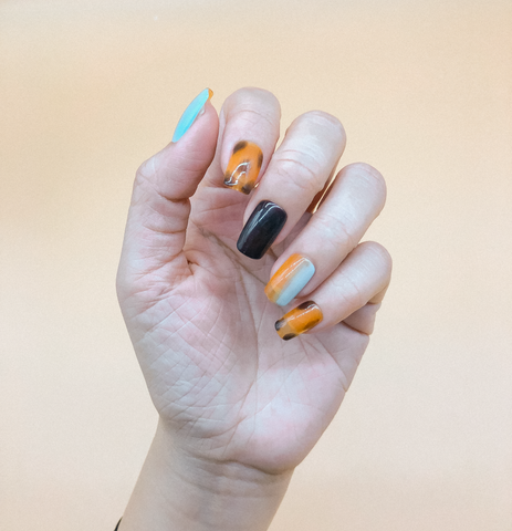 Summer Skin Press On Nails (Custom) by Veronique