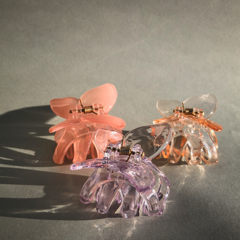 Midi Butterfly Hair Claws by Veronique