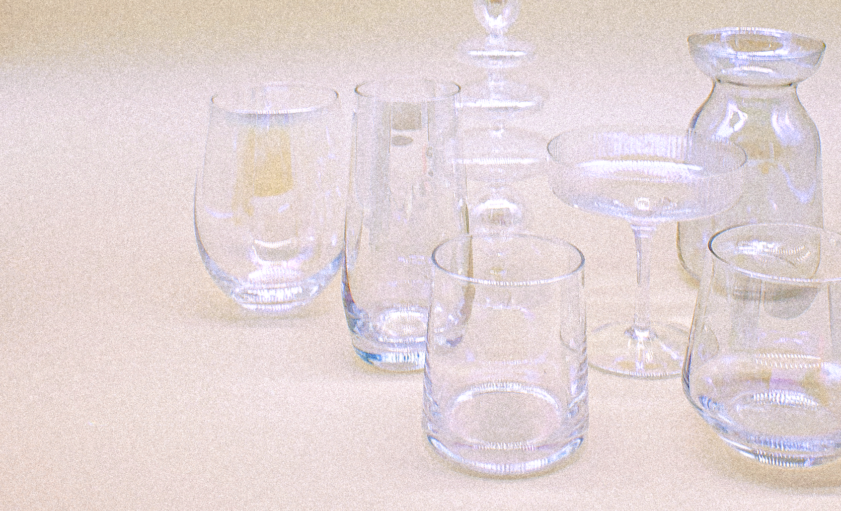 Holographic Carafe Set by PROSE Tabletop