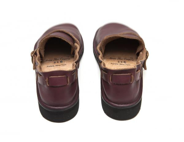 Aurora Shoe Co. - Women's Middle English (Burgundy)