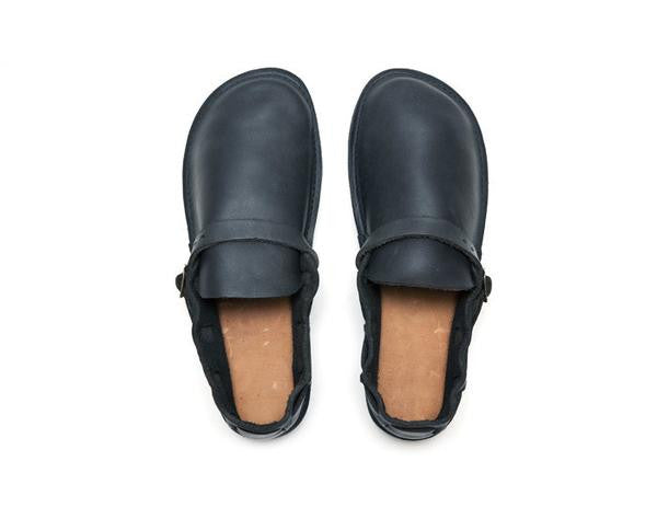 Aurora Shoe Co. - Women's Middle English (Navy)
