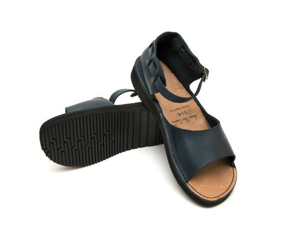 Aurora Shoe Co. - Women's New Mexican (Navy)