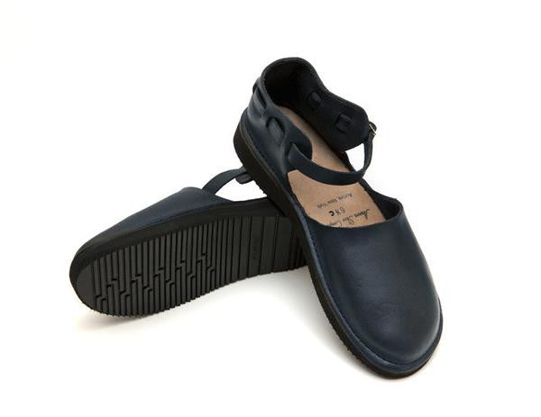 Aurora Shoe Co. - Women's Chinese (Navy)
