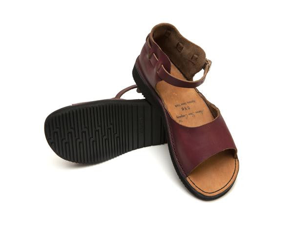 Aurora Shoe Co. - Women's New Mexican (Burgndy)
