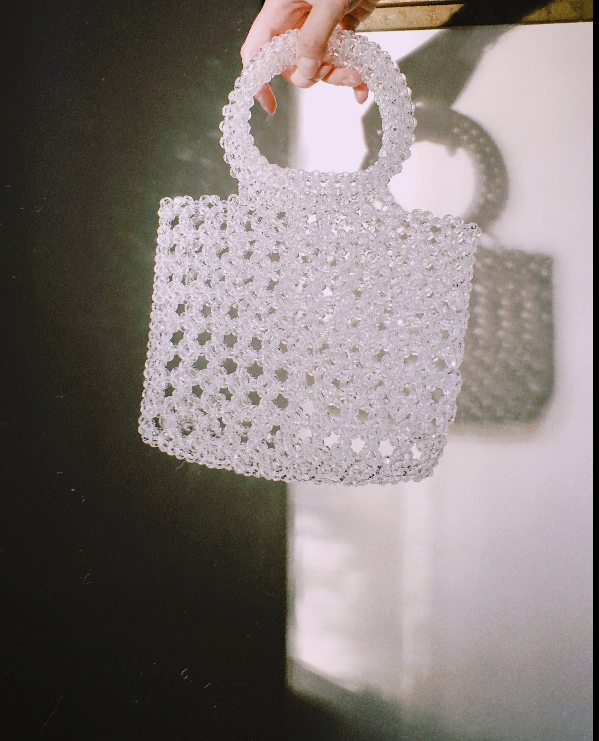 The Stevie Beaded Shopper Bag by Veronique