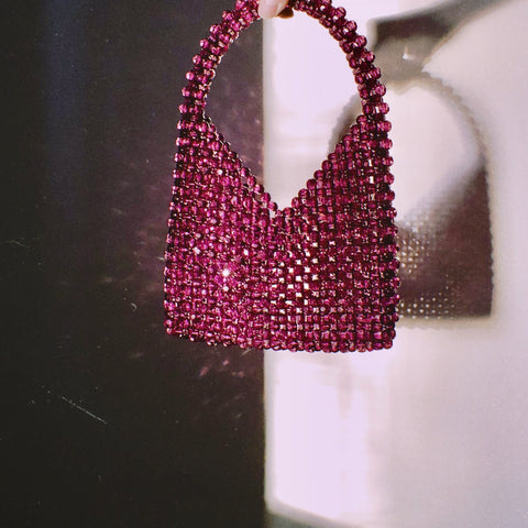 The Diana Beaded Bindle Bag by Veronique