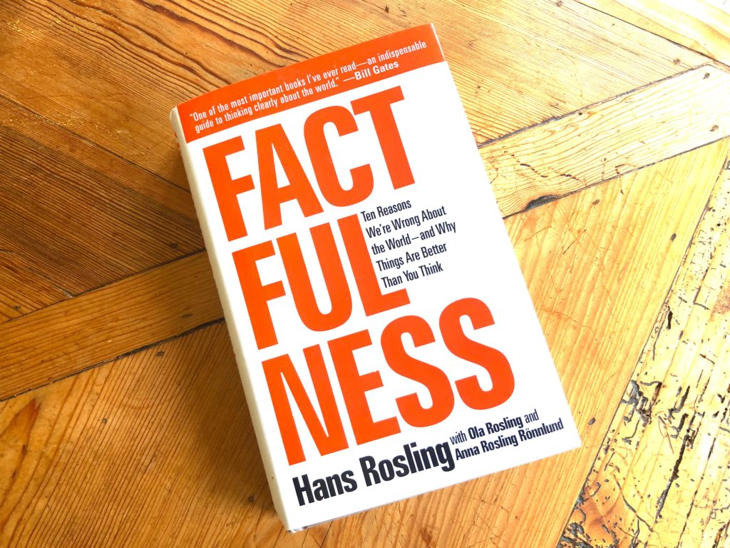 Factfulness: Ten Reasons We're Wrong About the World and Why Things Are Better Than You Think Book (2018) by Anna Rosling Rönnlund, Hans Rosling, and Ola Rosling
