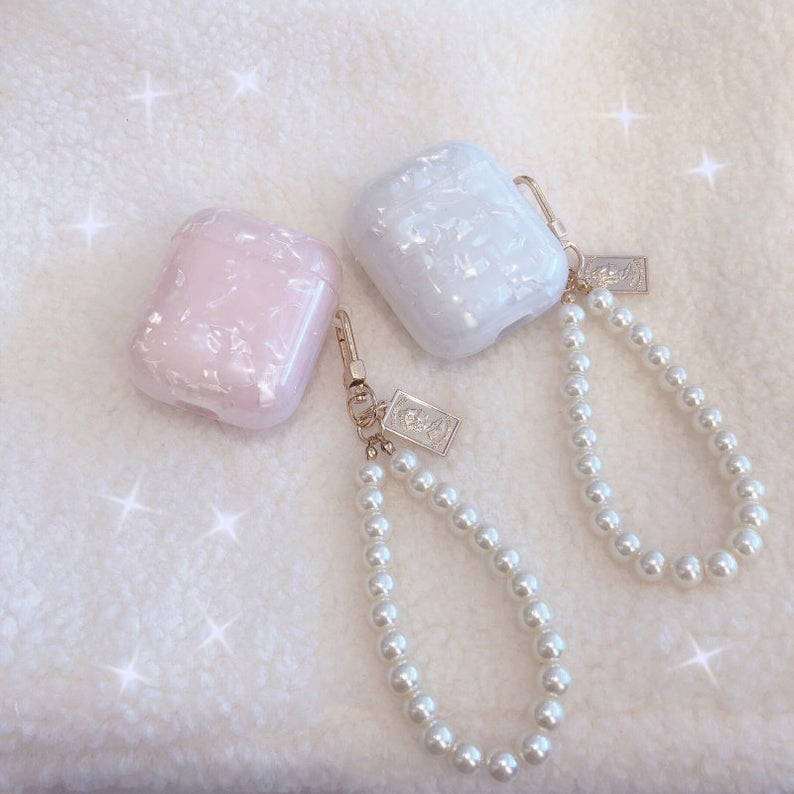 Rose Quartz Airpod Pro Case by Veronique