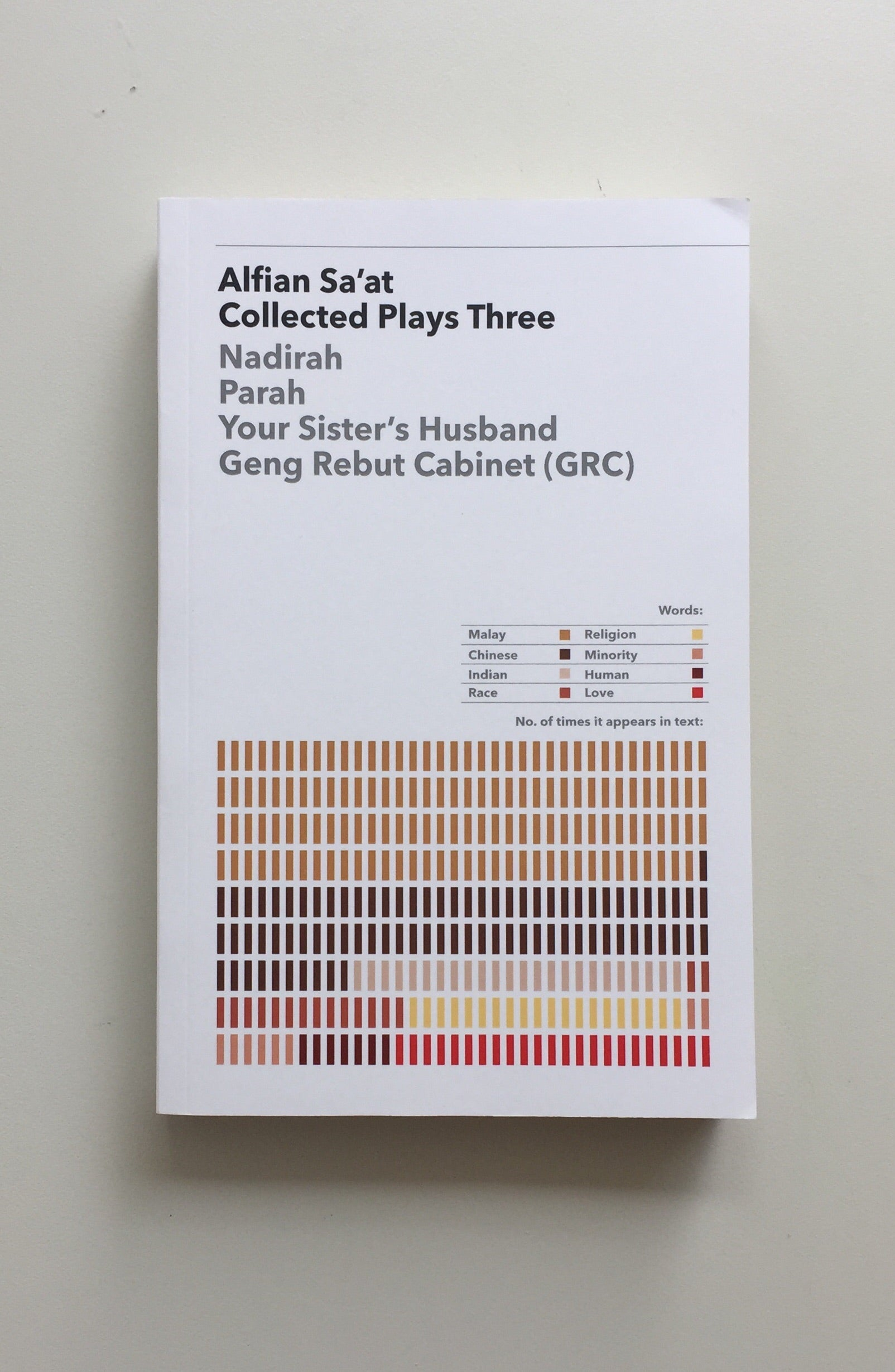 Collected Plays Three by Alfian Sa'at