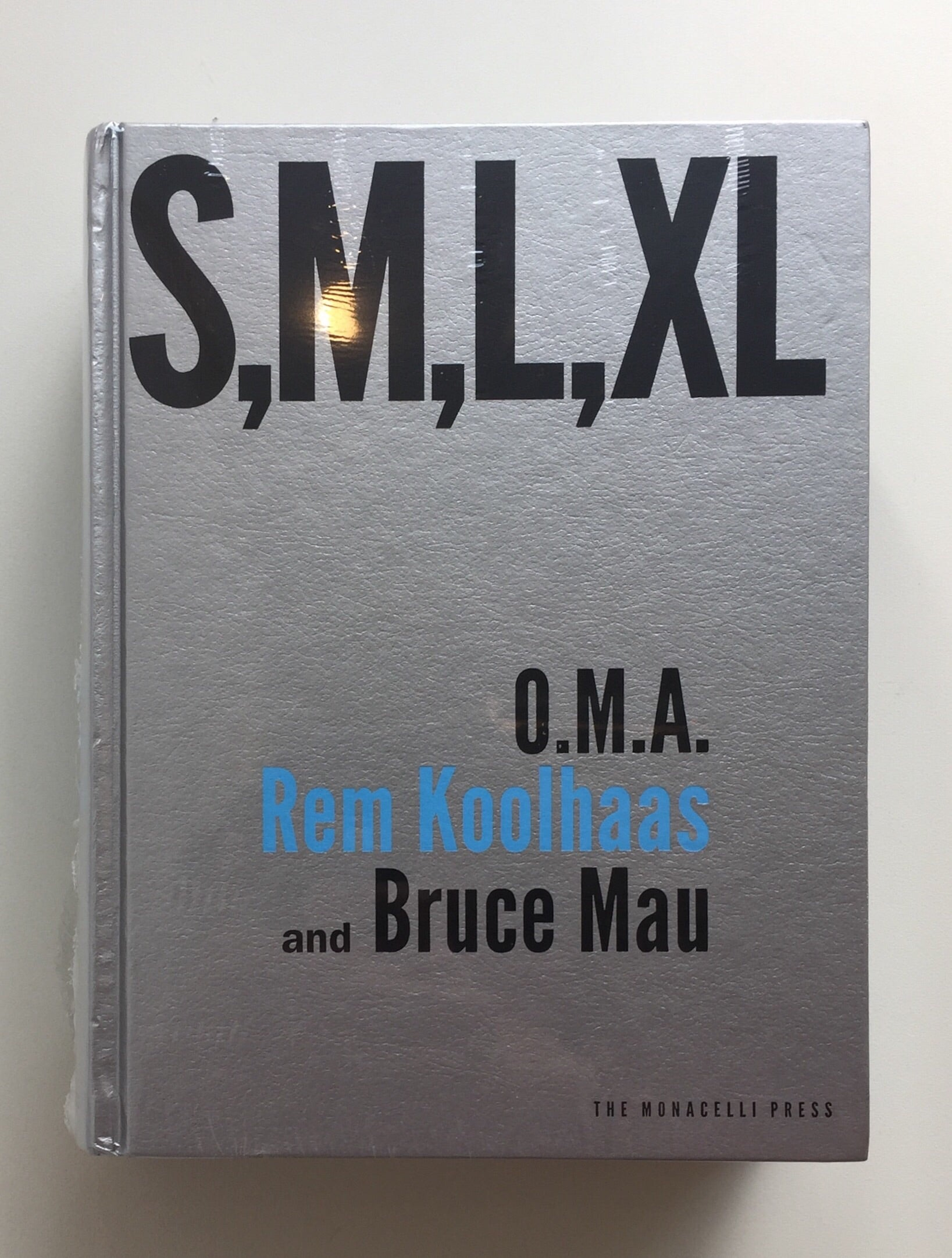 S,M,L,XL by Rem Koolhaas and Bruce Mau