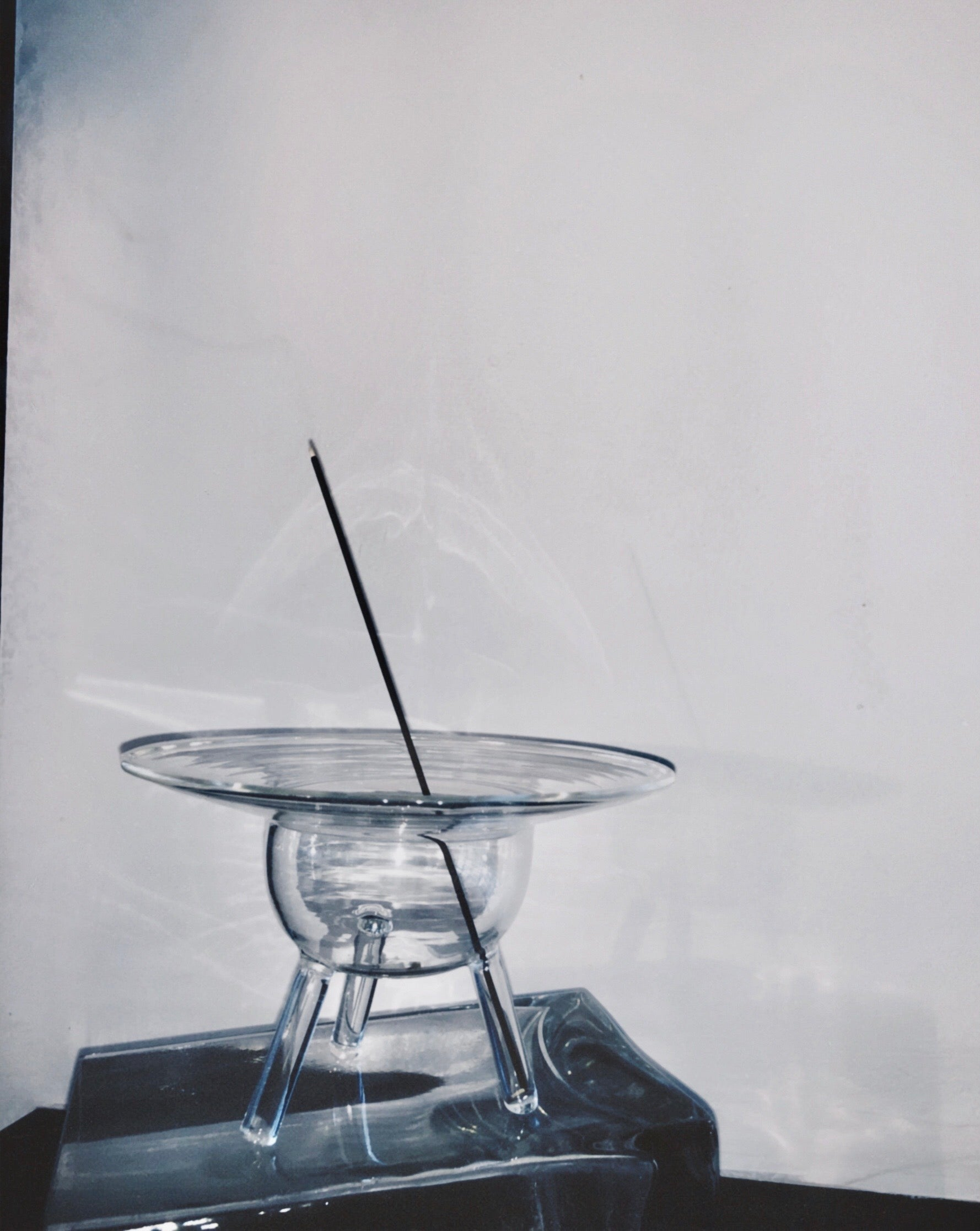 Glass Incense Holder by Prose Décor