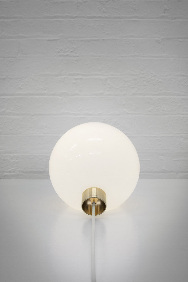Bulb: Table Lamp with Brass fitting