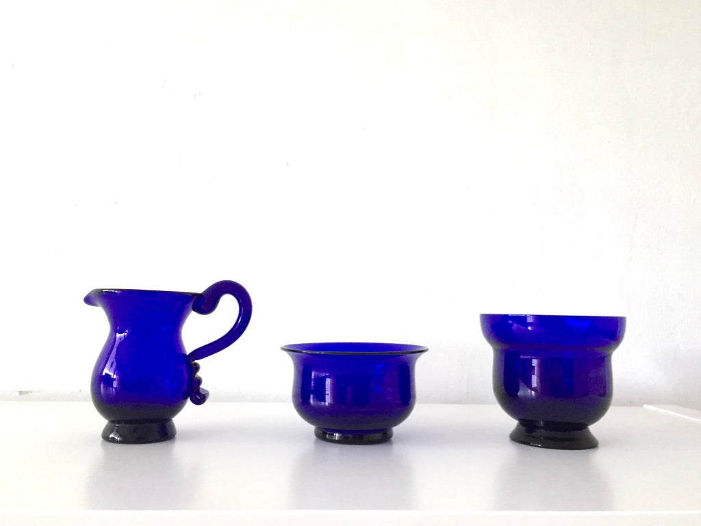 Handcrafted Glass Tableware Set  by Vivian Lam