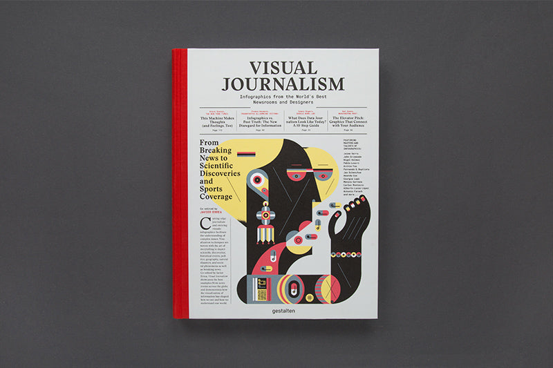 Visual Journalism by Robert Klanten, Anja Kousnetsova (2017)