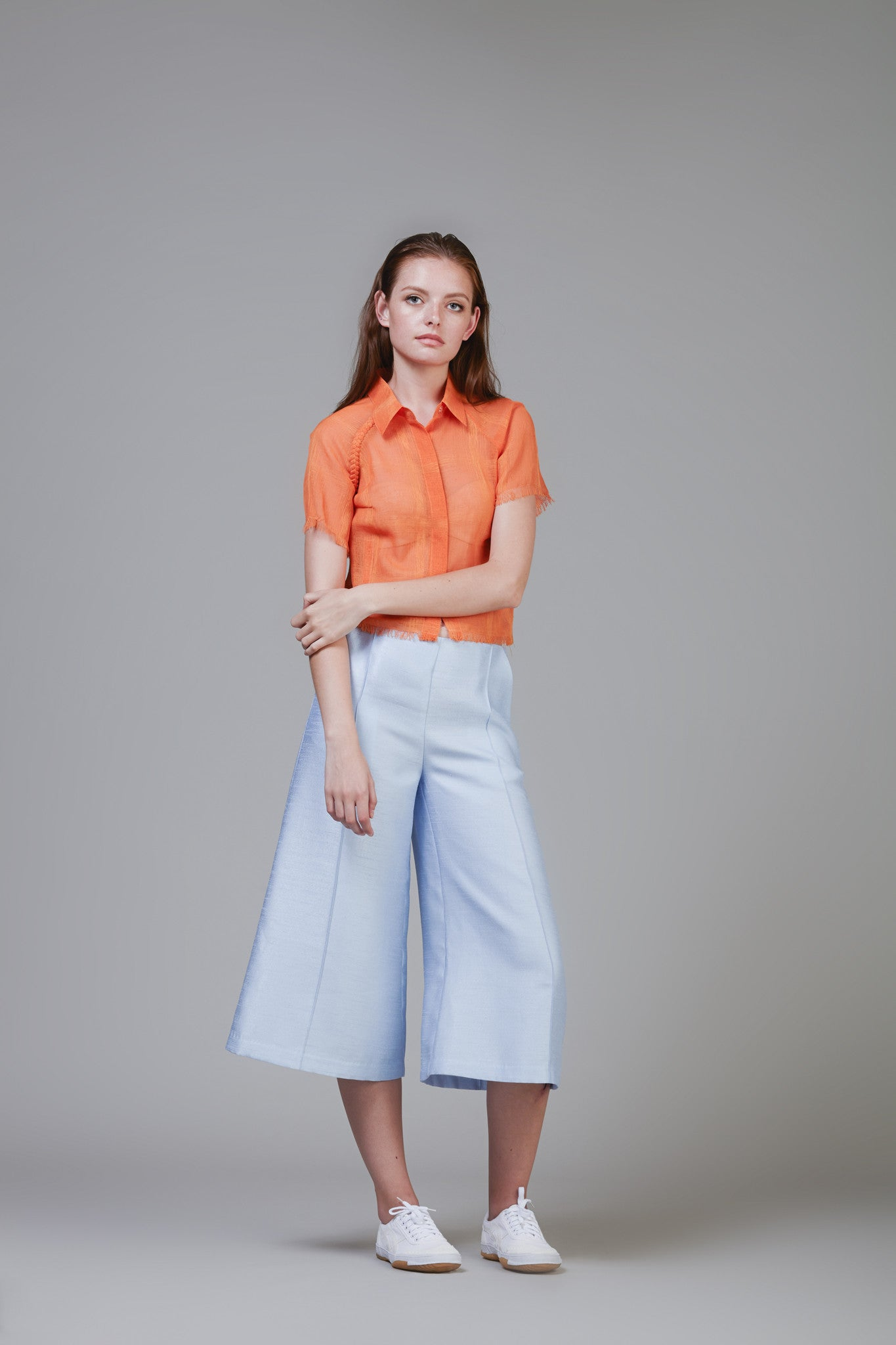 Structural Jacquard Culottes #36