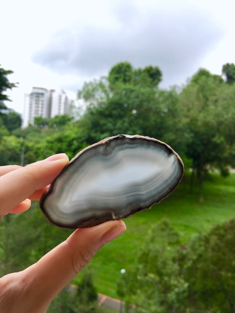 Agate Slice #38 by Vivian Lam