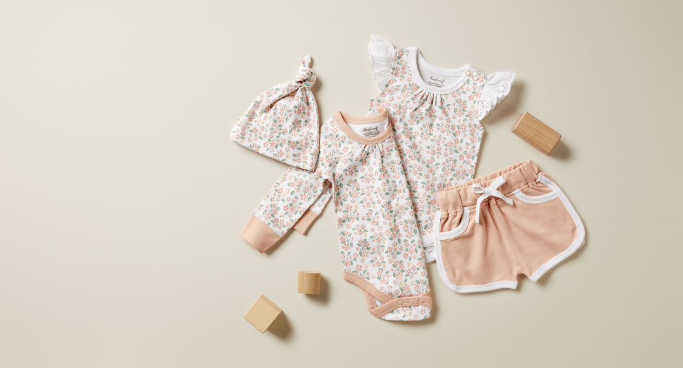 Sapling organic baby girls clothes