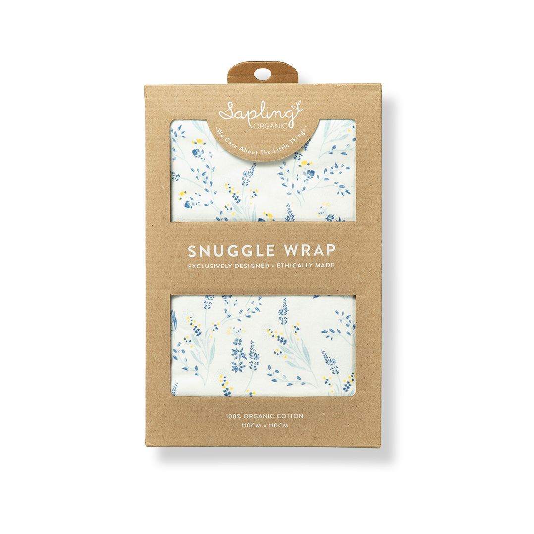 Meadow Snuggle Wrap - Sapling Organic Baby Clothes
