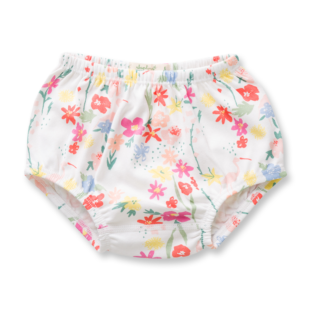 Floral Bloomers - Sapling Organic Baby Clothes