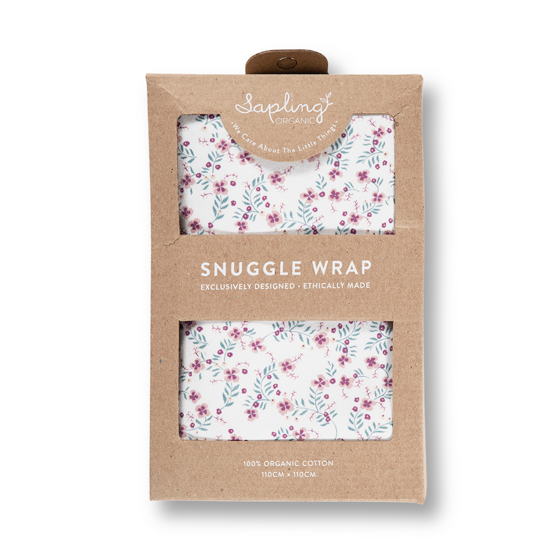 Full Bloom Snuggle Wrap - Sapling Organic Baby Clothes