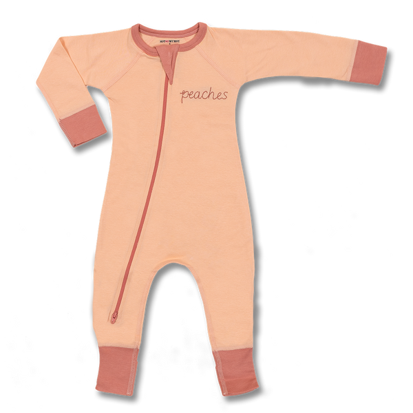 Peaches Zip Romper