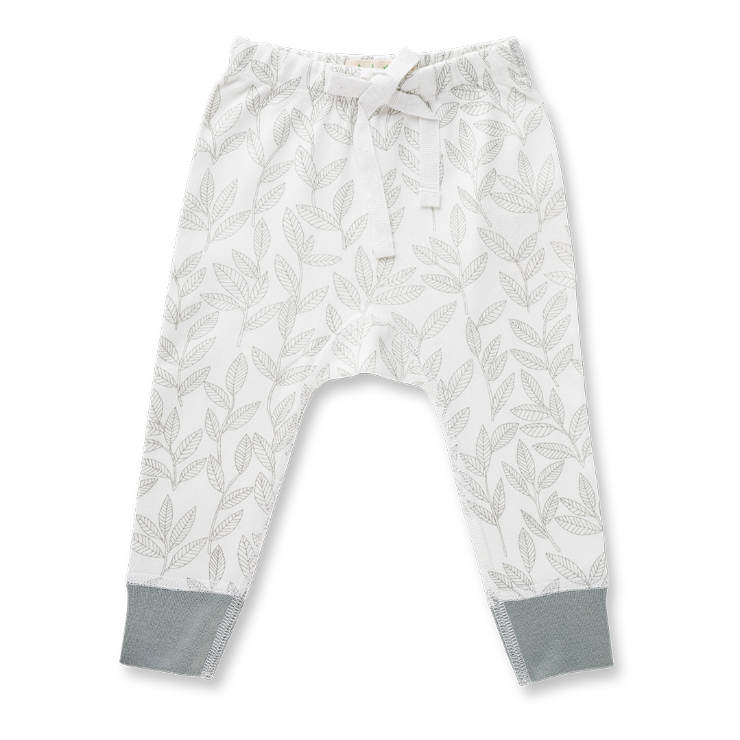 Laurel Leaf Pants - Sapling Organic Baby Clothes