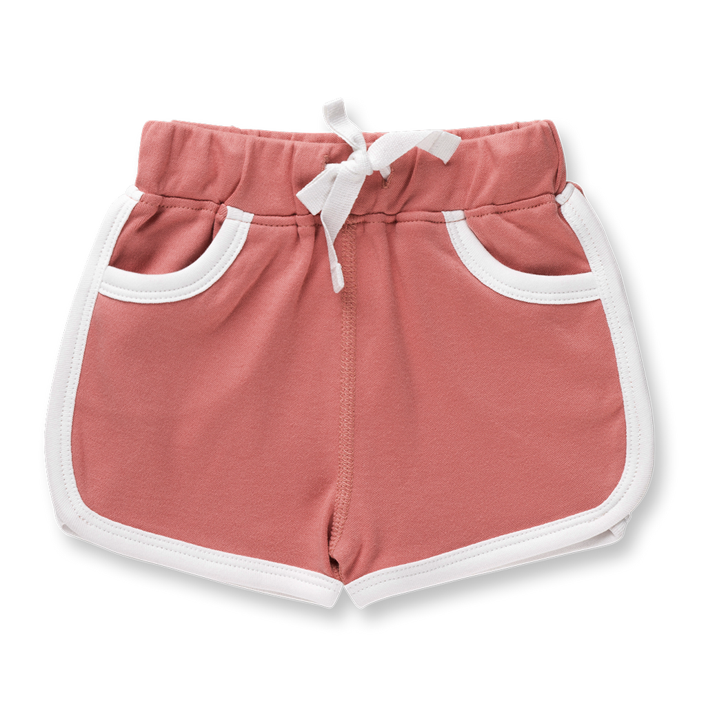 Bud Pink Shorts - Sapling Child