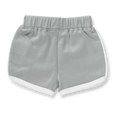 Neutral Grey Shorts - Sapling Organic Baby Clothes