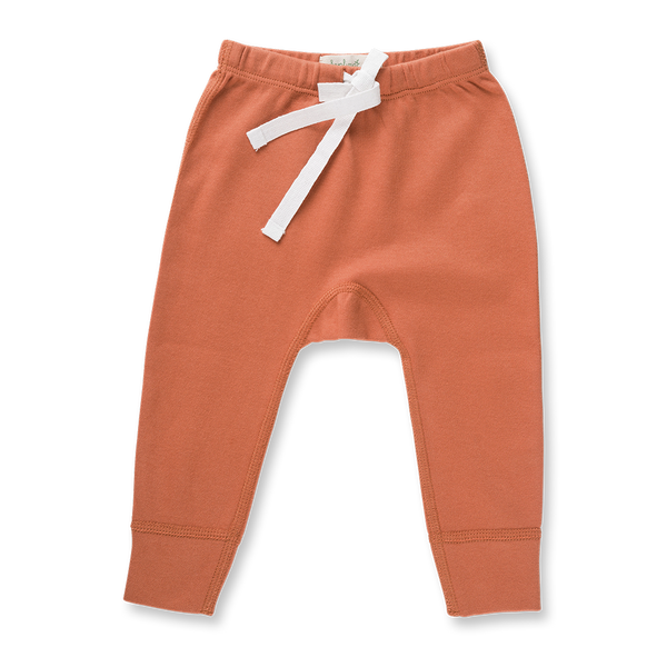 Fox Brown Pants - NO HEART - Sapling Organic Baby Clothes