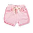 Heather Pink Shorts - Sapling Organic Baby Clothes