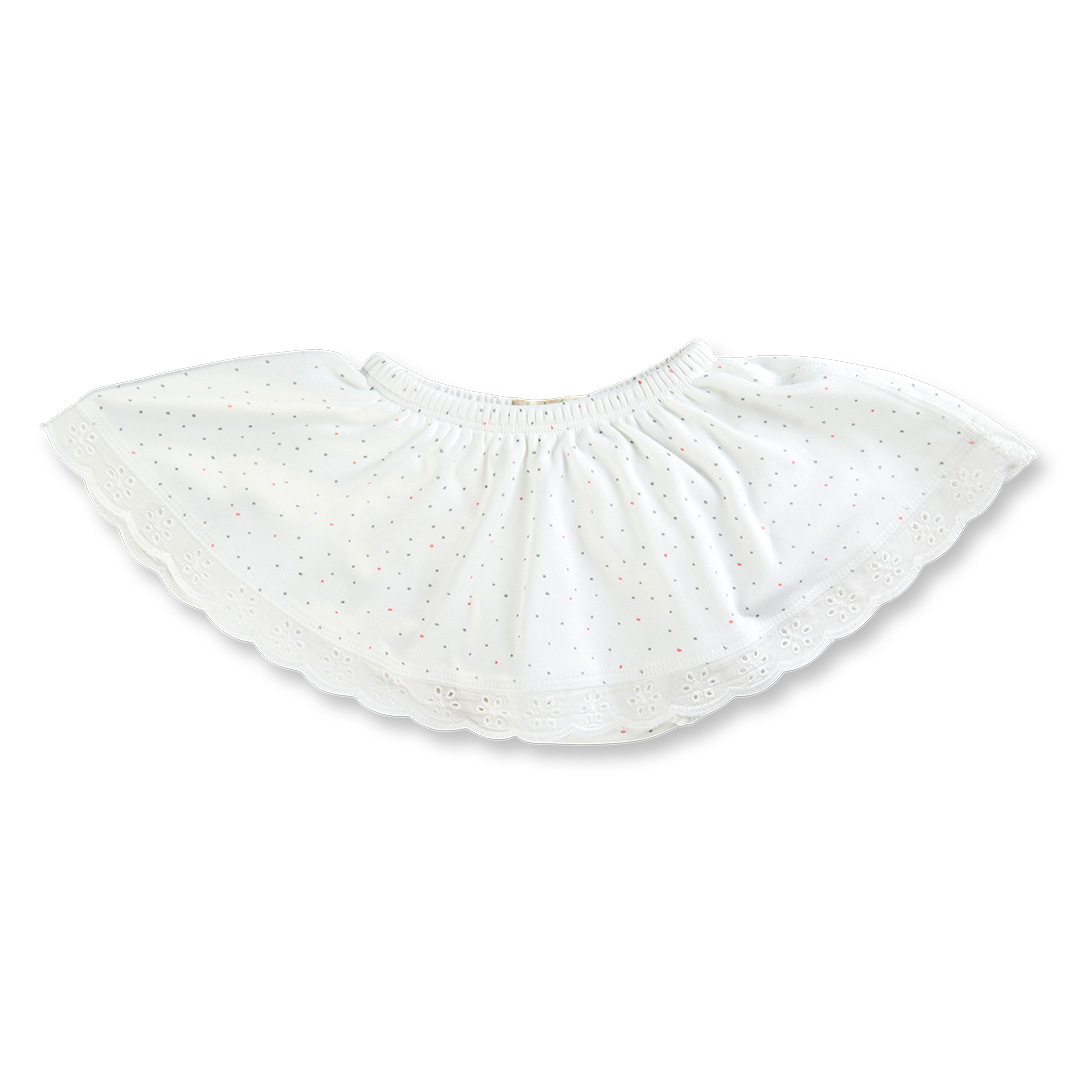Kibble Kitten Skirt Bloomers - Sapling Organic Baby Clothes