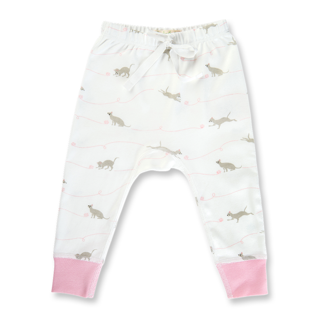 Kitten Pants - Sapling Organic Baby Clothes
