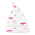 Raspberry Fizz Knotted Hat - Sapling Organic Baby Clothes