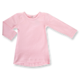 Heather Pink Long Sleeve Tee - Sapling Organic Baby Clothes