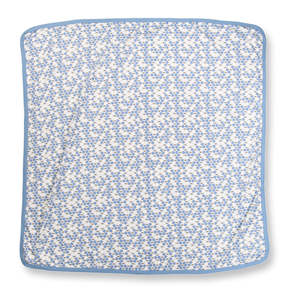 Cornflower Blue Bees Snuggle Wrap - Sapling Organic Baby Clothes