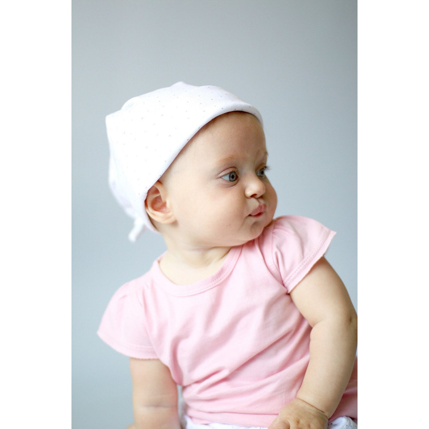 Kibble Kitten Knotted Hat - Sapling Organic Baby Clothes
