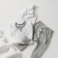 Laurel Leaf Zip Romper - Sapling Organic Baby Clothes