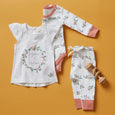 Berry Buds Long Sleeve Bodysuit - Sapling Organic Baby Clothes