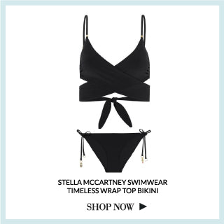Stella McCartney Swimwear Timeless Wrap top bikini