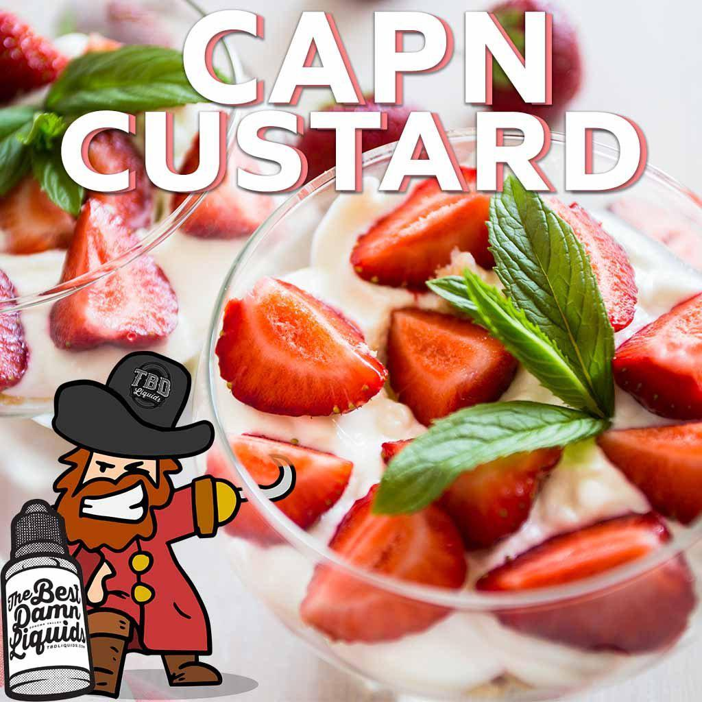 cap n custard ejuice 30ml bottle