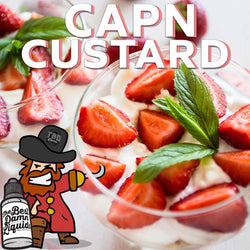 Best Strawberry Custard Best Vape Juice / E-Liquid / eJuice - Capn Custard TBD E-Liquids
